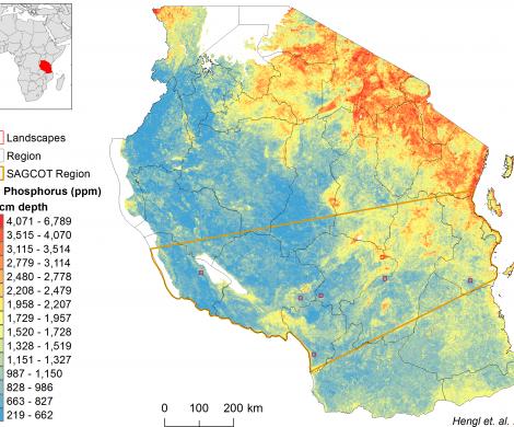 Tanzania - extractable Phosphorus
