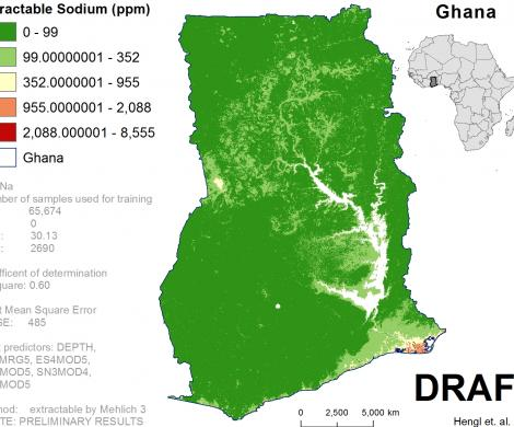 Ghana - extractable Sodium