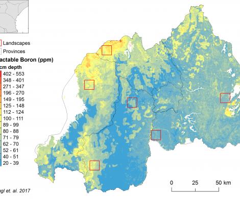 Rwanda - extractable Boron