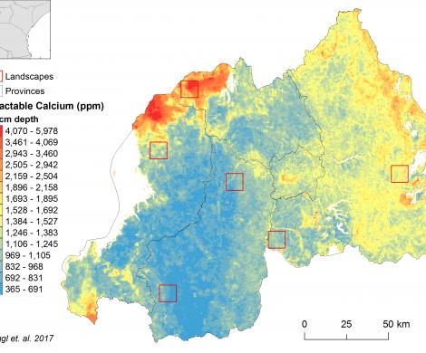 Rwanda - extractable Calcium